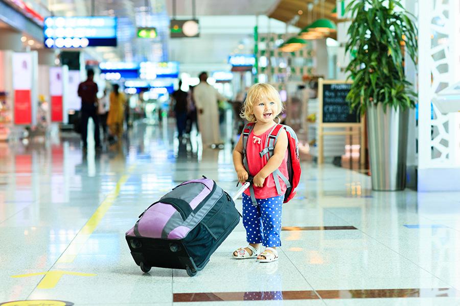 Пересечение границы с детьми